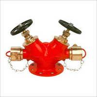 Double Hydrant Landing Valves