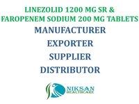 LINEZOLID 1200 MG SR & FAROPENEM SODIUM 200 MG TABLETS