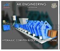 Industrial Coco Peat Block Making Machine