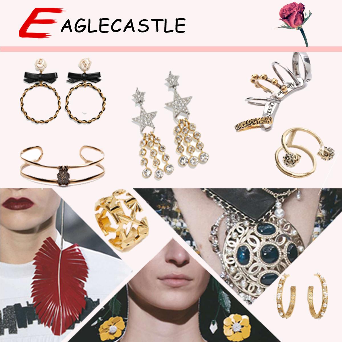 Beautiful Lady Earrings / Fashion Jewelry / Accessories / Jewellery / Silver Jewelry / Fashion Jewellery / National Style Earrings / Retro Earrings