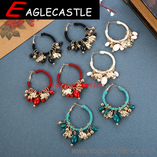 Fashion ladies accessories / party earring / silver jewelry / jewelry earring / women accessories / Retro earrings / garment accessory