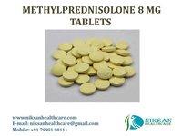 METHYLPREDNISOLONE 8 MG TABLETS