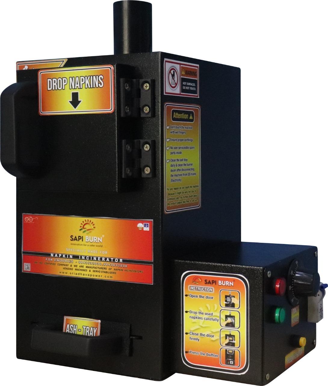 Abm Hostel 1.0  Sanitary Pad Incinerator Machine