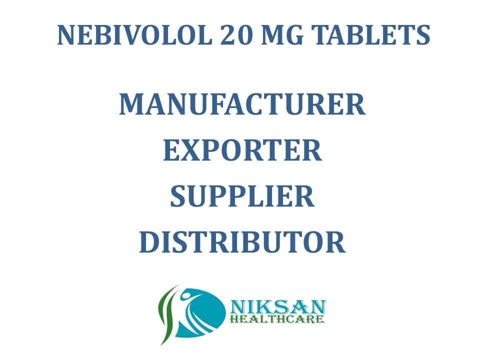 NEBIVOLOL 20 MG TABLETS