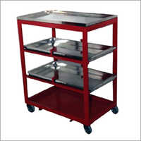 4 Tier MS Air Track Trolley