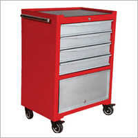 4 Drawers Single Cabinet Tools Trolley