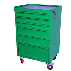 6 Drawers Single Cabinet Tools Trolley