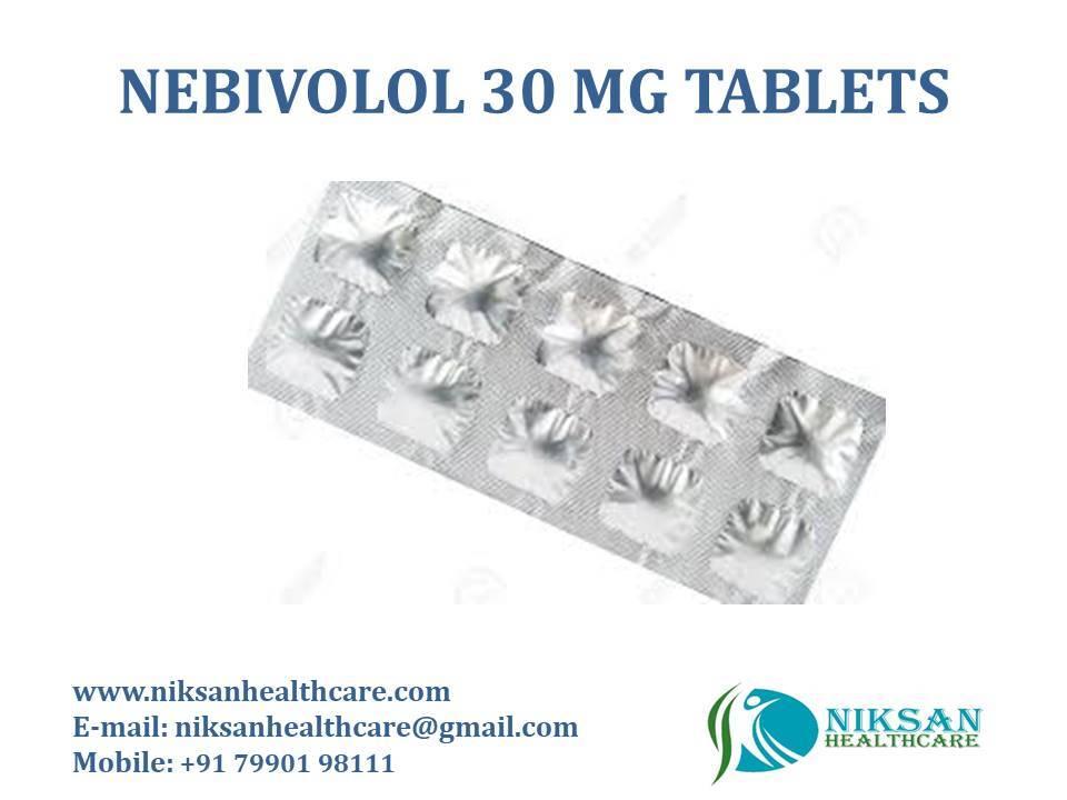 NEBIVOLOL 30 MG TABLETS