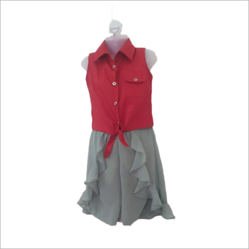 Kids Culottes With Shirts