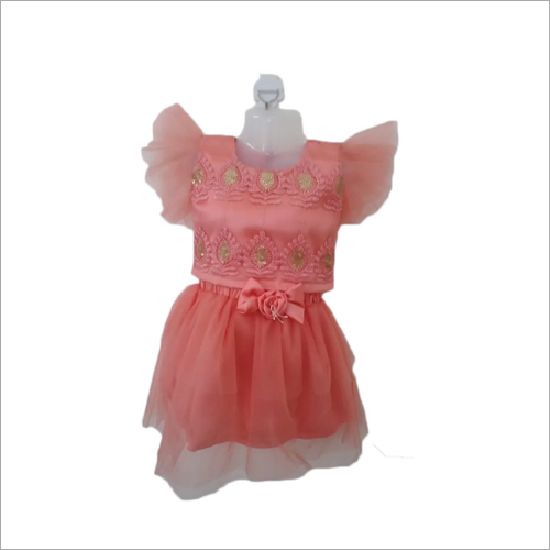 Kids Designer Skirt With Top