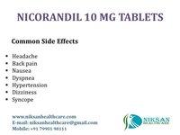 NICORANDIL 10 MG TABLETS