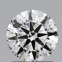 Round Brilliant Cut CVD 1.01ct Diamond G SI2 IGI Certified Lab Grown TYPE2A