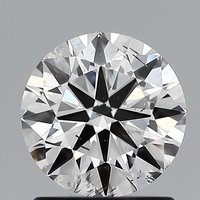 Round Brilliant Cut Lab Grown 1ct G SI2 IGI Certified Diamond 445056299