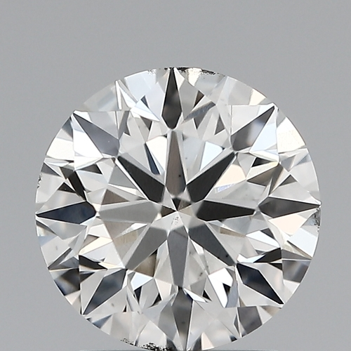 Round Brilliant Cut Lab Grown 1.71ct G SI1 IGI Certified Diamond 445056482