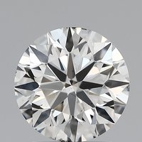 Round Brilliant Cut Lab Grown 1.71ct G SI1 IGI Certified Diamond 445056482