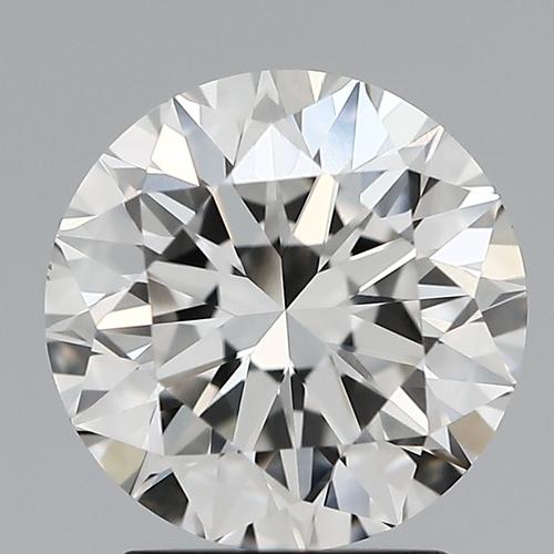 Round Brilliant Cut Lab Grown 2.07ct H VVS2 IGI Certified Diamond 445056436