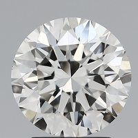Round Brilliant Cut Lab Grown 2.07ct H VVS2 IGI Certified Diamond 445056436