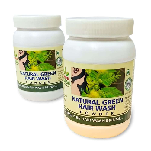Natural Green Hair Wash Powder