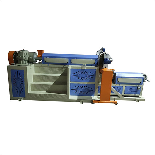 Electric Two Stage Extruder Machine