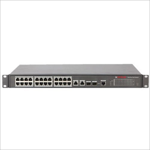 CP Plus CP-UNW-HP24G2F2-24 24 Port PoE Switch