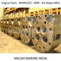 Engine-parts- Mirrlees - Kmr6-kmr8-kmr9-kv-major-mk3 - Supplier - India
