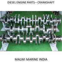 Crankshaft For Diesel Engine Parts