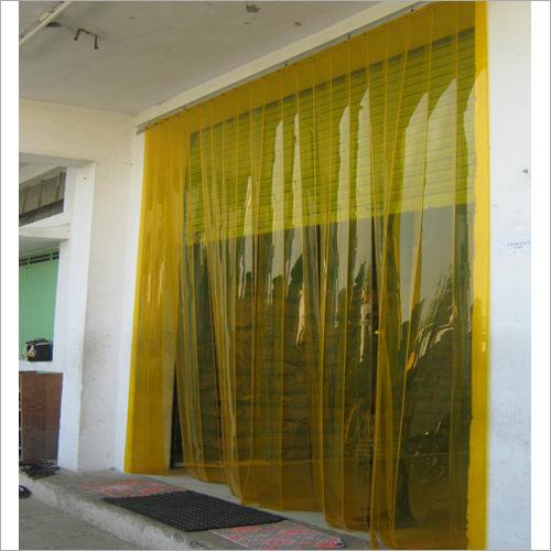 Clear View Polyvinyl Chloride Strip Curtain