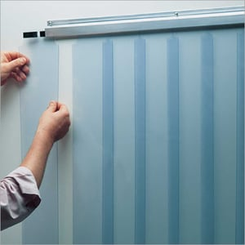 Clear View PVC Strip Dividers