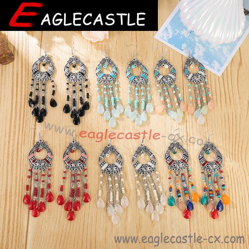 Silver Jewelry / Jewelry Earring / Fashion Accessories / Beautiful Earrings / Earrings / National Style Earrings / Retro Earrings