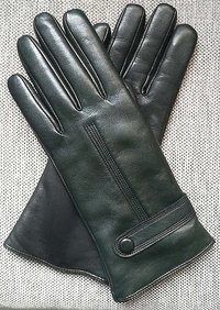 Luxury Quality Soft Lambskin Leather Gloves Cashmere or Wool Lined Winter, Ladies Gloves