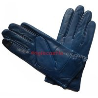New Style Leather Gloves Patching Leather Gloves Touch Screen Gloves Winter Leather Gloves Lady Gloves Warm Gloves