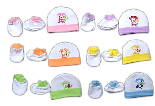 CAP SET FRIENDS EMB LC EMBRO