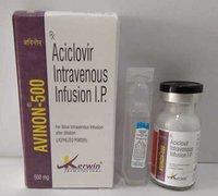Kerwin Formulations Aciclovir 250/500mg Injection (Avinon-500mg)