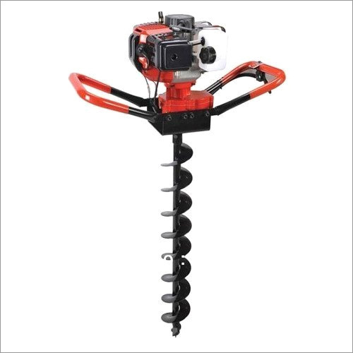 Earth Auger of 52cc with 4inch Drill