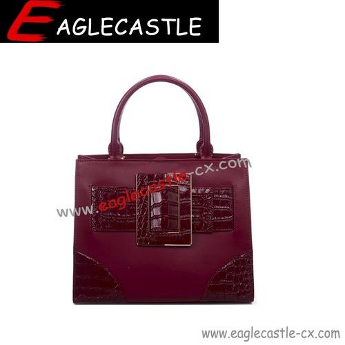 Fashion lady pu tote handbag / daily handbag / women bag / lady bag / classics pu bag
