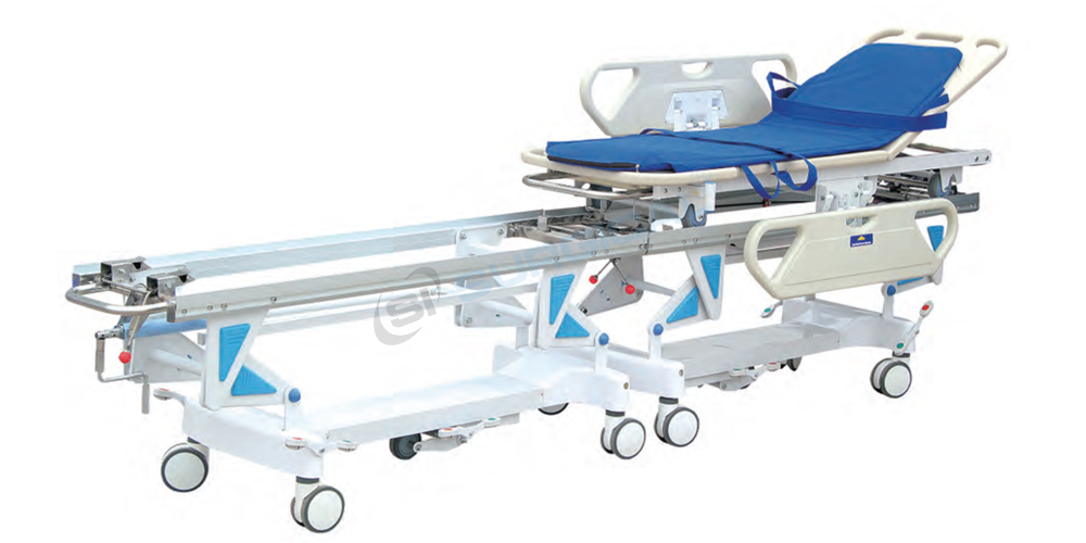 Transfer Stretcher Cum Medical Trolley (Sis 2007b)