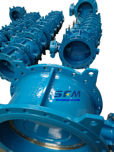 BS EN Standard Double Offset Butterfly Valves