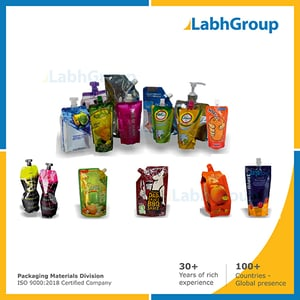 Printed Spout Packaging Pouches