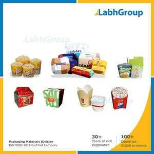Printed Paper Packing Container