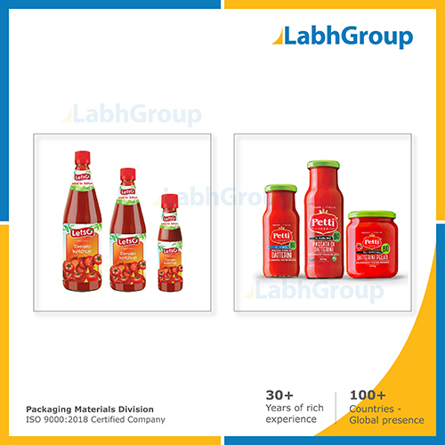 Glass Bottle For Sauce, Dips, Paste And Condiments Packaging