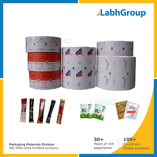 Printed Pe Coated Packing Paper For Sugar Sachets
