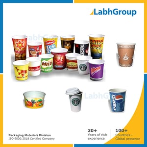 Printed Pe Coated Disposable Paper Cups