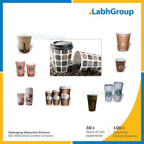 Printed Pe Coated Paper Cups For Coffee