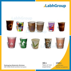 Printed Pe Coated Paper Cups For Tea