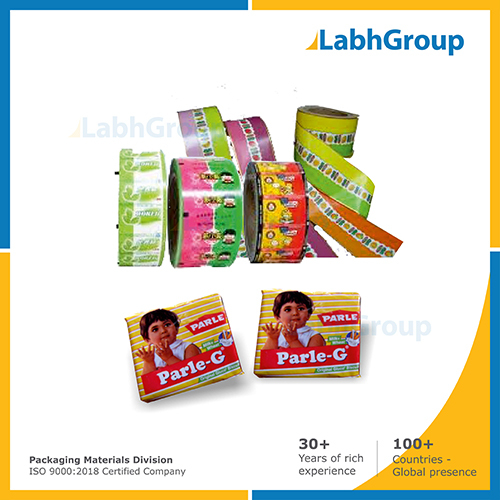 Printed Wax Coated Paper For Biscuits Packing