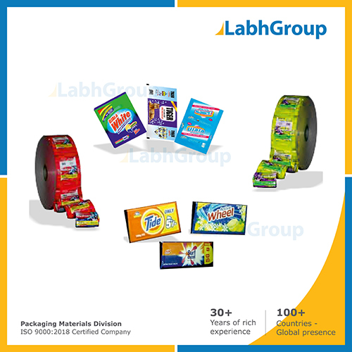 Printed Paper Wrapper For Detergent Cake Packaging