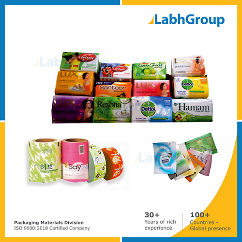 Printed Paper Packing Material For Toilet Soap