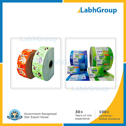 Printed Paper Wrapper For Washing Bath Soap