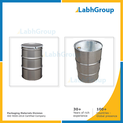 Stainless Steel Packing Drum