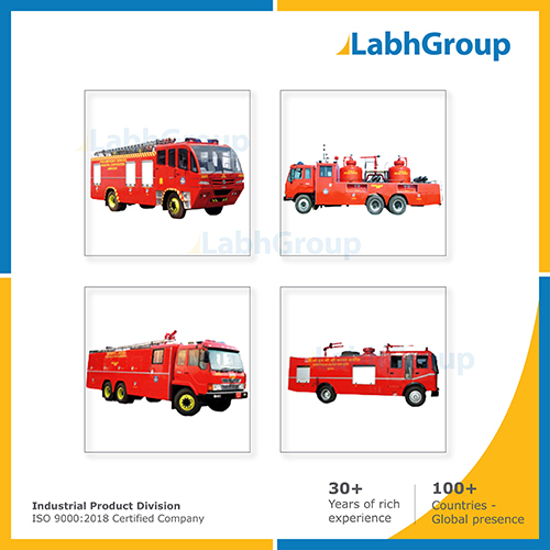 Fire Tender & Vehicle